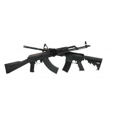 Customize PSA AR-15/ Blem AK-47 Rifle Set With Matching