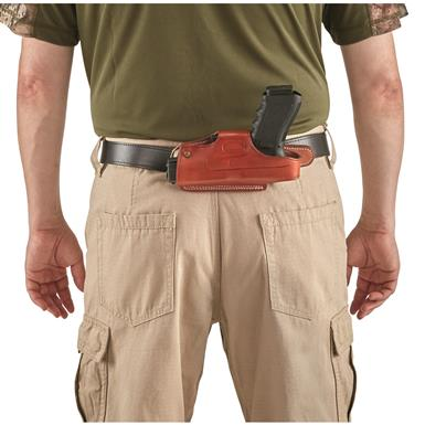 Guide Gear Leather 4-Position Holster, Ruger LCP/LC9/LCR, Right