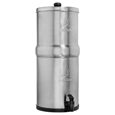Stainless Steel Water Filtration System Alexapure Pro